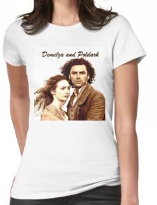 Demelza and Poldark in Cornwall Womens Fitted T-Shirt