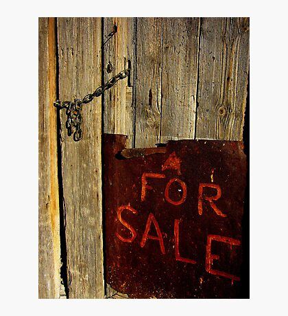 For Sale Photographic Print