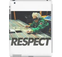 Respect the DJ iPad Case/Skin