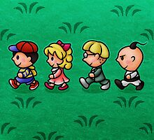 Earthbound Guys by likelikes