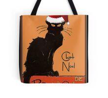 Le Chat Noel Tote Bag