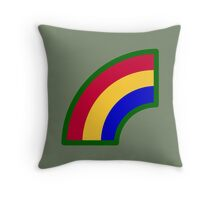 42nd Infantry Division (United States) Throw Pillow