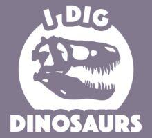 I Dig Dinosaurs Kids Tee