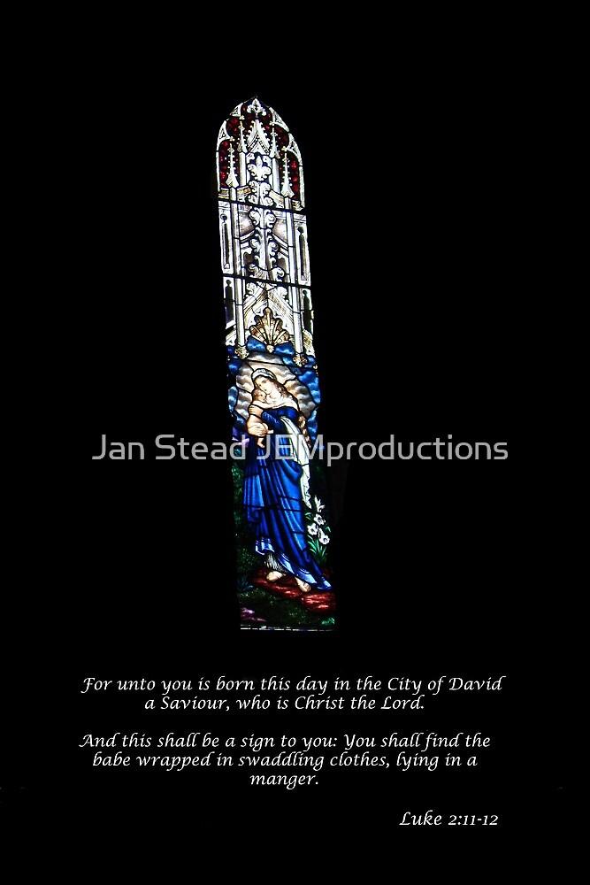 Luke 2 Christmas Card by Jan Stead JEMproductions