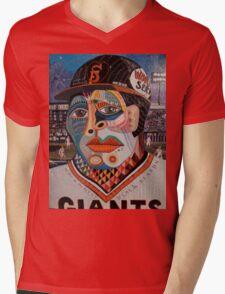 A San Francisco First Mens V-Neck T-Shirt