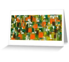Orange Mist Greeting Card
