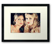 R&M Framed Print