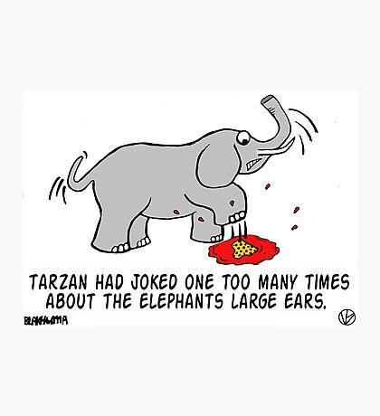 Tarzan the Bully. Photographic Print