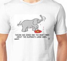 Tarzan the Bully. Unisex T-Shirt