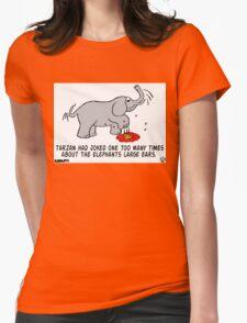 Tarzan the Bully. Womens Fitted T-Shirt