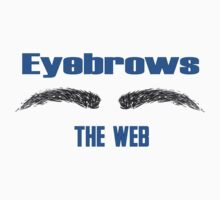 Eyebrows the web (I browse the web) One Piece - Short Sleeve