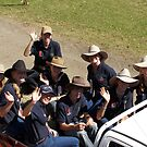 ACS Girls on Ute by Sharon Robertson