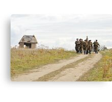 Red army march Canvas Print