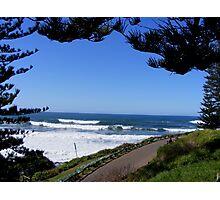 Yamba - NSW - ocean view Photographic Print