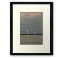 Gulf Shores. Framed Print