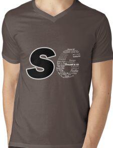 Castle S6 Mens V-Neck T-Shirt