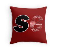 Castle S6 Throw Pillow