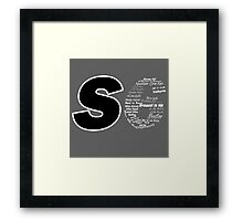 Castle S6 Framed Print