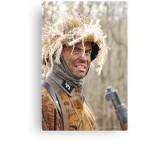 German sniper Canvas Print