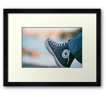 All Star Analogue Framed Print