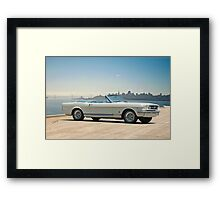 1965 Ford Mustang Convertible Framed Print