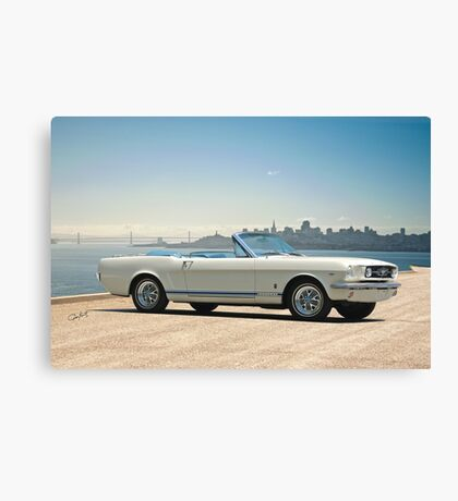 1965 Ford Mustang Convertible Canvas Print