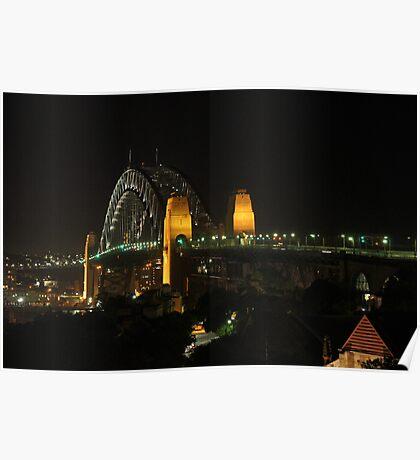 Harbour Bridge Natural Light Poster