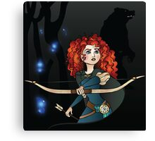Disney Princesses - Merida Canvas Print