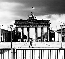 Brandenburg Gate, the Eastern View  by Neil Mouat