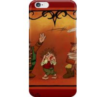 The Hobbit - Unexpected Party iPhone Case/Skin