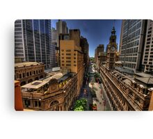 Martin Place - Sydney Australia - The HDR Experience Canvas Print