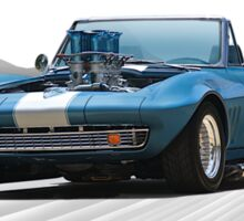 1965 Corvette 'Fuel Injected' Convertible Sticker