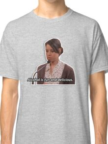 April Ludgate - alcohol is fun Classic T-Shirt