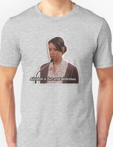 April Ludgate - alcohol is fun T-Shirt