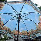 Blue sky over Venezia in case of rain by Arie Koene