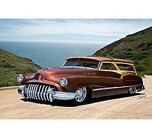 1950 Buick Woody Custom Wagon Photographic Print