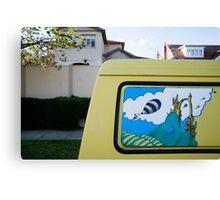 Dr.Seuss Van Canvas Print