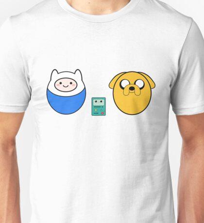 Finn Jake e bmo patterns Unisex T-Shirt