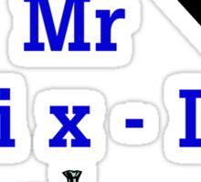 Mr Fix -It Sticker