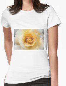 The perfect rose Womens Fitted T-Shirt