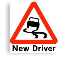 New Driver Canvas Print