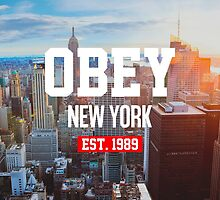OBEY New York by radiondev