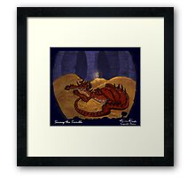 The Hobbit - Smaug the Terrible Framed Print