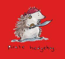 Pirate Hedgehog Kids Tee