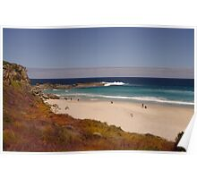 Lowlands Beach on a busy day Poster