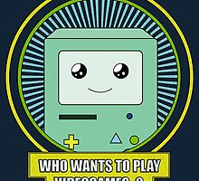 Who wants to play videogames ? by TonyLucazzy