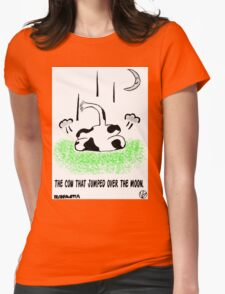 No Bull. Womens Fitted T-Shirt