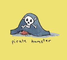 Pirate Hamster Kids Tee