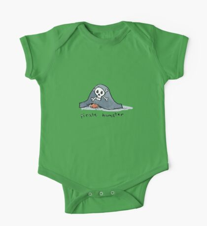Pirate Hamster One Piece - Short Sleeve