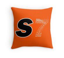 Castle S7 Throw Pillow